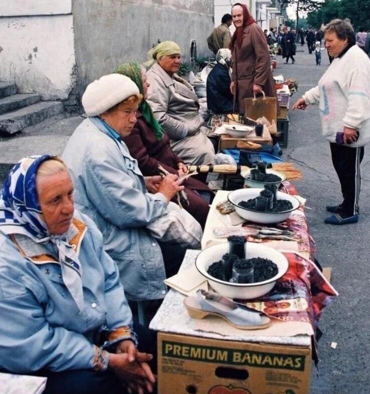 4. Стихийный рынок в Сахалинской области. 1998 год