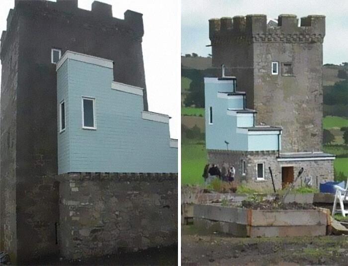 2. Ремонт 500-летнего замка