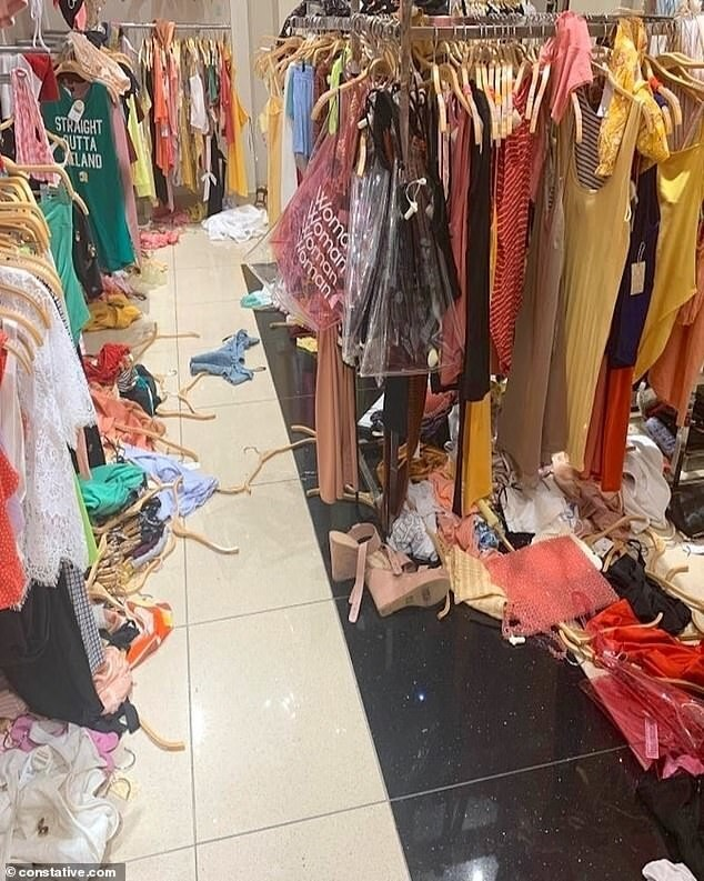 4. Обычный день сотрудника магазина одежды