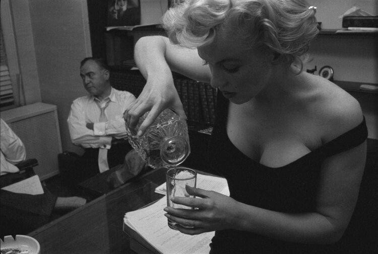 Мэрилин Монро, 1958 год