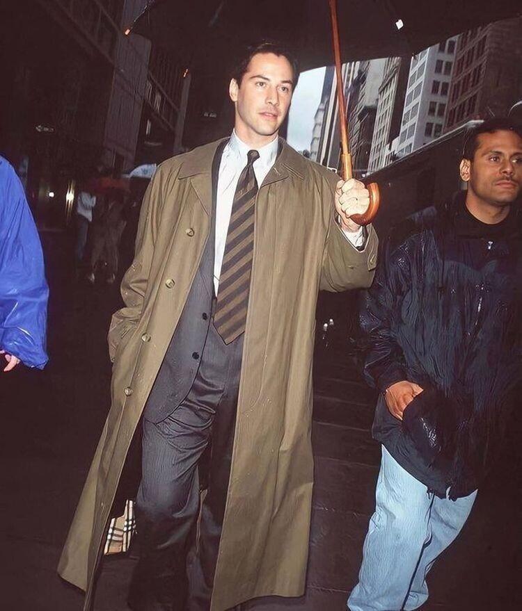 Киану Ривз в Нью-Йорке, 1997 год