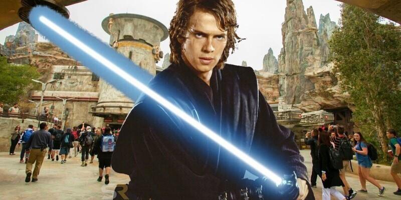 """Хейден Кристенсен стал единственным актером в """"Звездных войнах"""", который снимался во всех частях со световым мечом одного дизайна. Его приблизили к мечу, который появился еще в фильме 1977 года, когда Оби-Ван подарил меч маленькому Люку"""