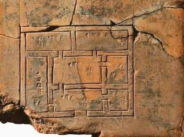 4. Дизайн-проект жилища, сделанный шумерами 5000 лет назад
