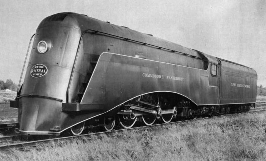 Commodore Vanderbilt, спроектированный Карлом Ф. Кантолой,  1934 год