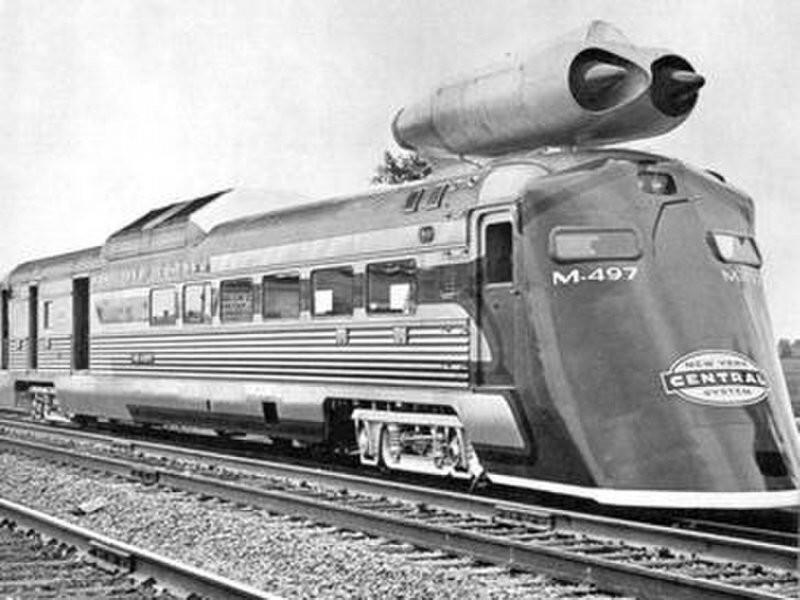 М-497 реактивный локомотив