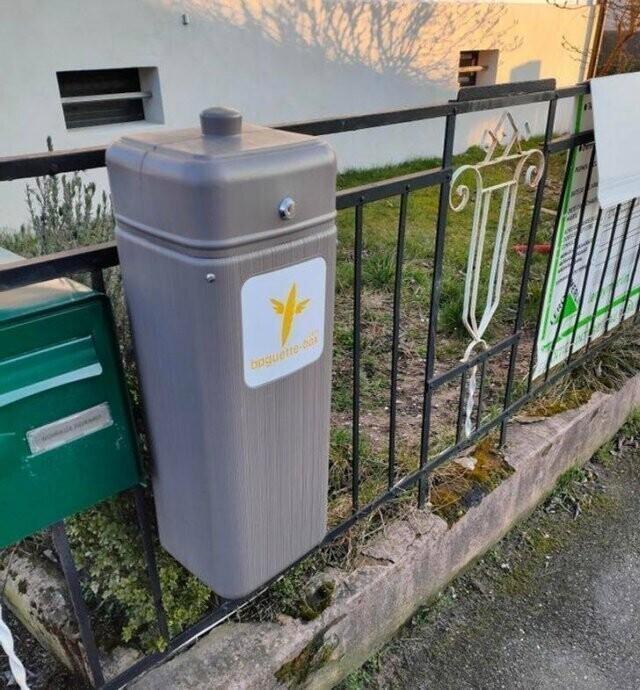 Во Франции вы можете воспользоваться услугами сервиса по ежедневной доставке свежих багетов
