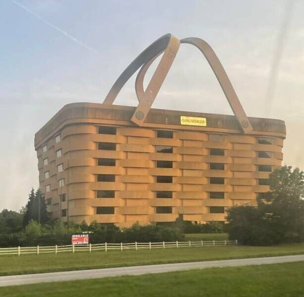 В Огайо, США, есть дом в виде корзины для пикника