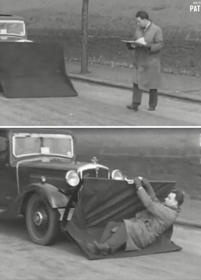 """21. """"Ловец пешеходов"""" 1920-х годов"""