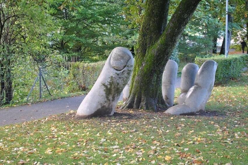 Скульптура, которая напоминает, что природа нуждается в бережном отношении