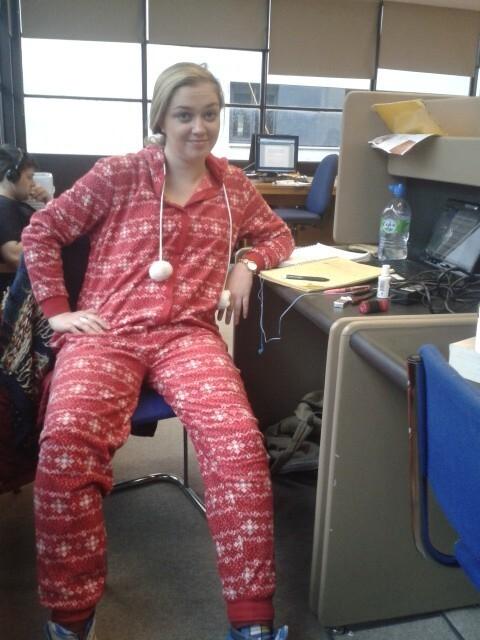 Кто сказал, что мне слабо прийти в пижаме на работу