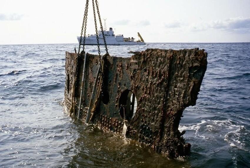 Это часть Титаника