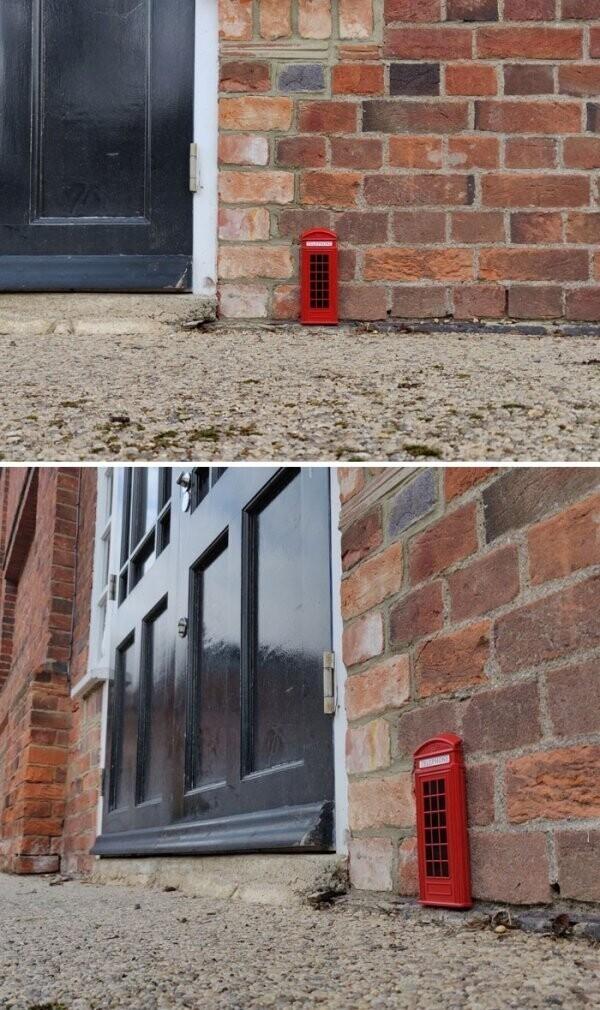 """""""Заметил на улице миниатюрную телефонную будку"""""""
