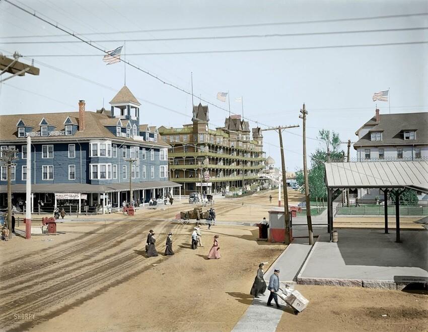 22. Олд-Орчард-Бич, штат Мэн, 1904 год