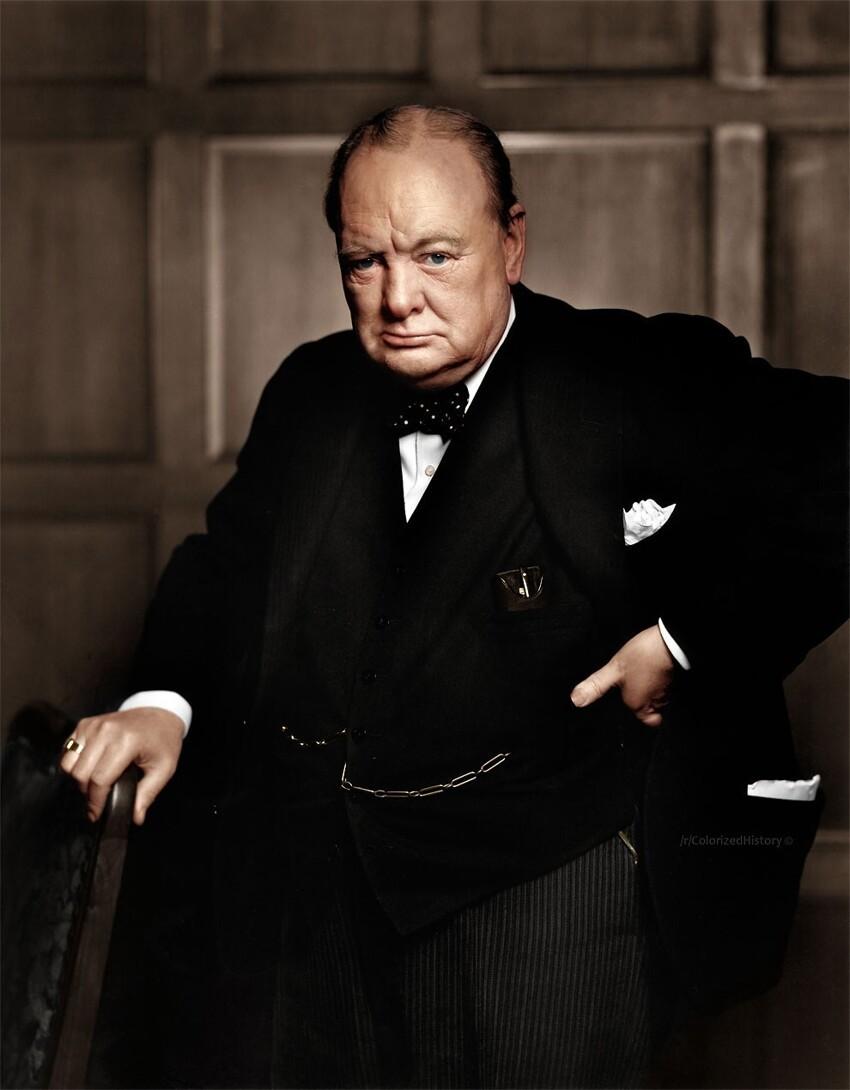 29. Уинстон Черчилль, 1941 год