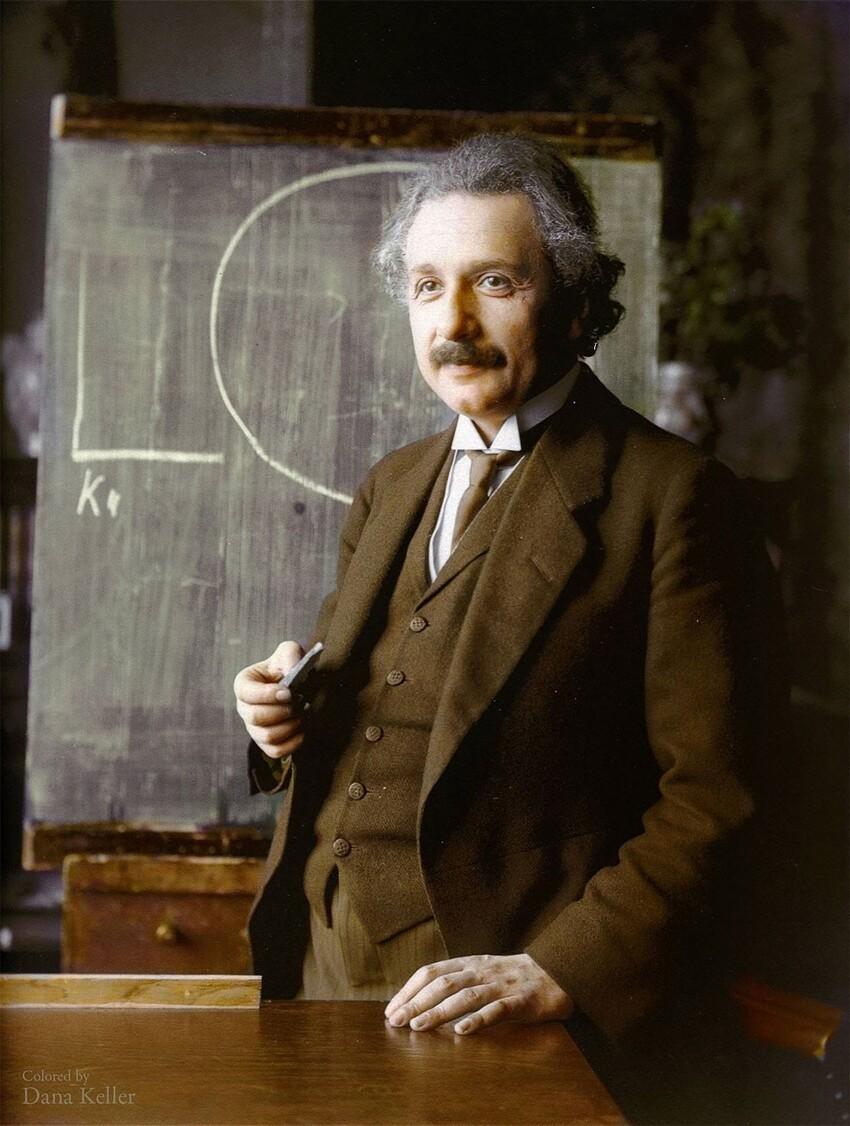 30. Альберт Эйнштейн, 1921 год