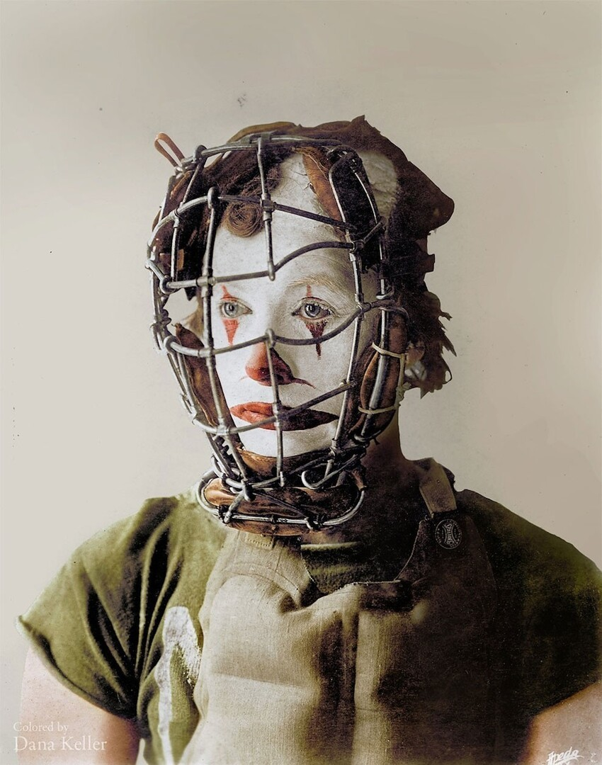 5. Фрэнк «Щепка» Оукли, клоун-бейсболист, 1904 год