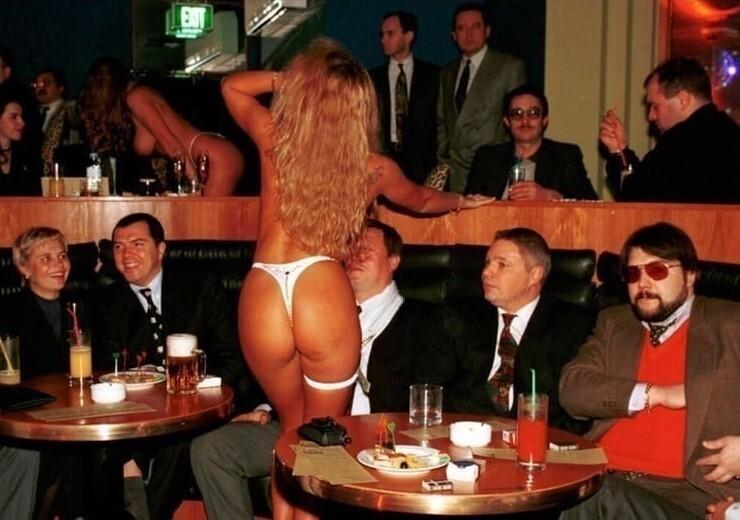 15. Ночной клуб Dolls. Москва, 1994 год