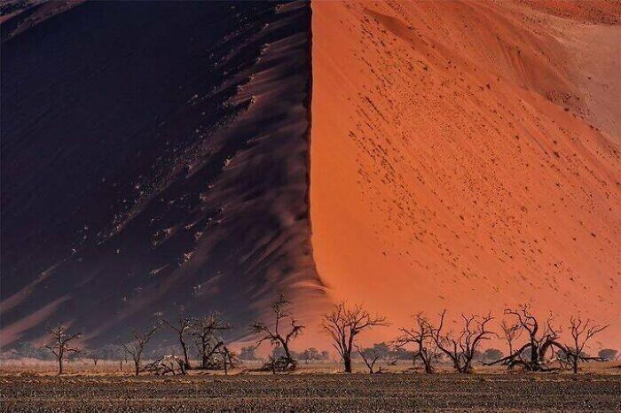 Гигантская песчаная дюна