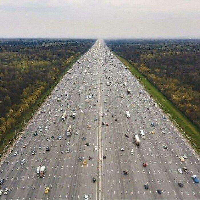Современное шоссе