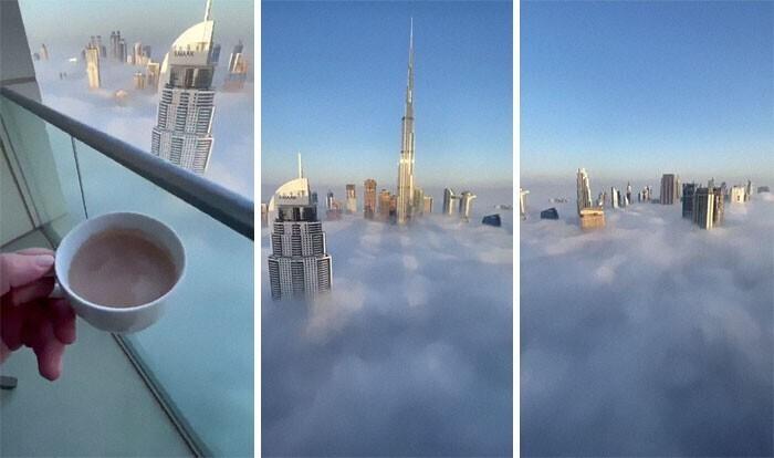 Дубай. Вид из окна
