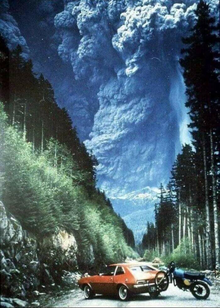 Извержение вулкана Сент-Элен, 1980 год