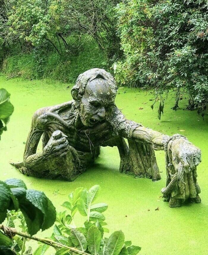 Парк скульптур в Ирландии