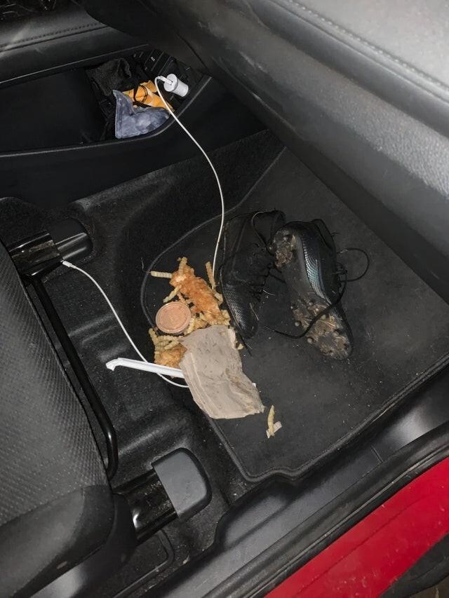 13. Есть в машине - почти всегда плохая идея