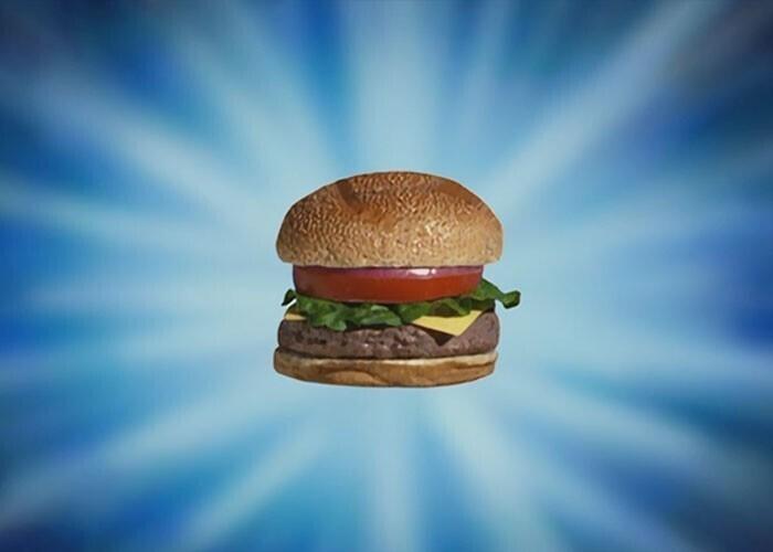 """Крабсбургер из мультика """"Губка Боб"""" - по задумке вегетарианский. Аниматор и создатель сериала Стивен Хилленбёрг давно заявил, что его бургеры не содержат мяса"""