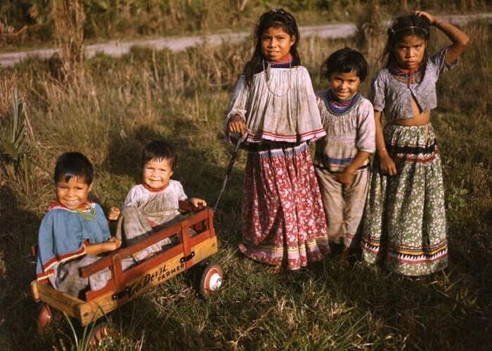 Каждый ребенок племени индейцев-семинолов становится мультимиллионером, когда ему исполняется 18 лет