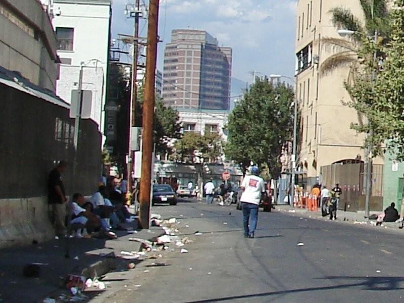 Скид-Роу, Лос-Анджелес