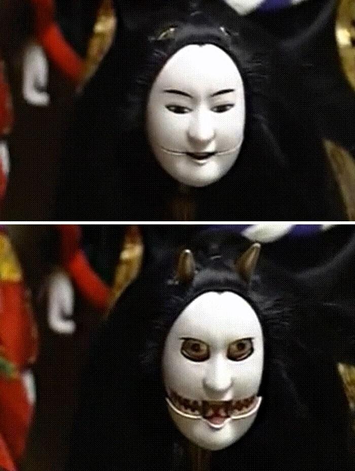 16. Кукла японского кукольного театра Бунраку