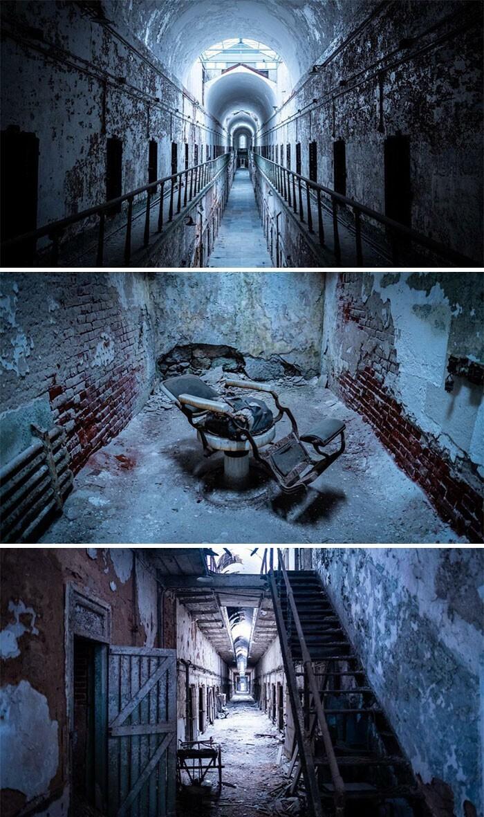 26. Восточная государственная тюрьма, Филадельфия, Пенсильвания