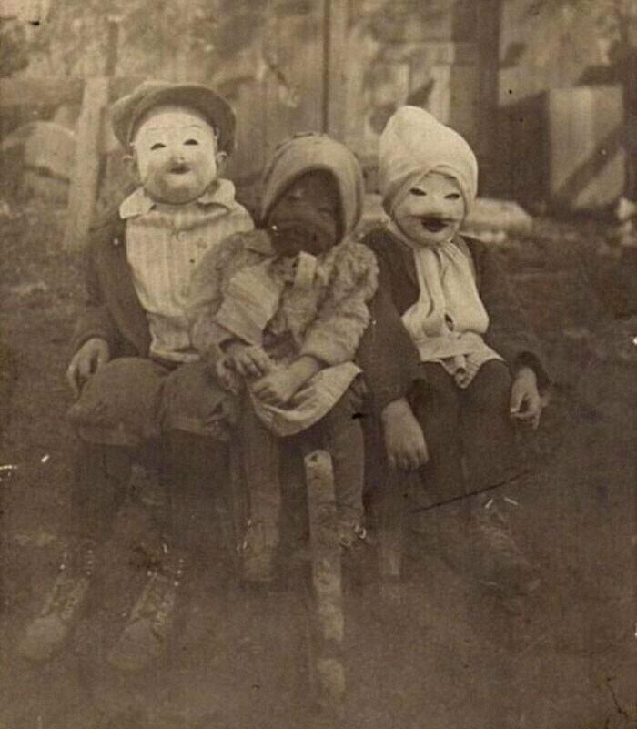 32. Хэллоуин, начало 20 века