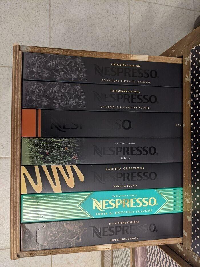 """""""Мою радость не передать. Все коробочки с кофе вместились в шкаф!"""""""