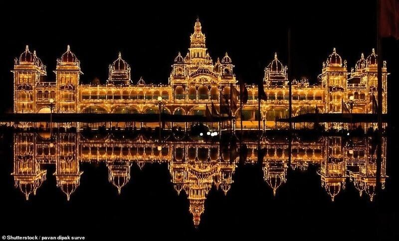 Майсурский дворец, Карнатака, Индия