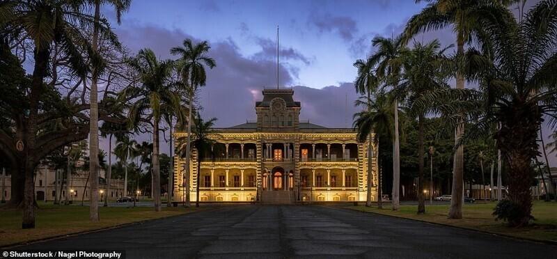 Дворец Иолани, Гонолулу, Гавайи
