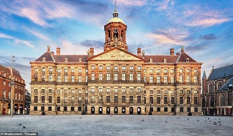 Королевский дворец, Амстердам, Нидерланды