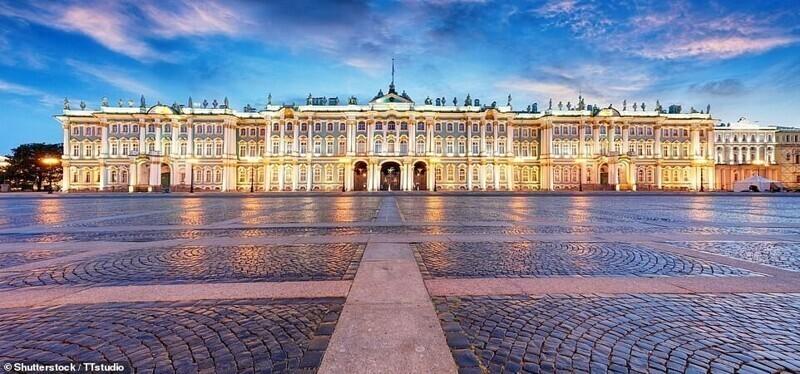 Зимний дворец, Санкт-Петербург, Россия