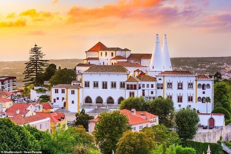 Национальный дворец, Синтра, Португалия