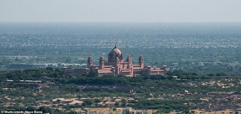 Дворец Умайд-Бхаван, Джодхпур, Индия