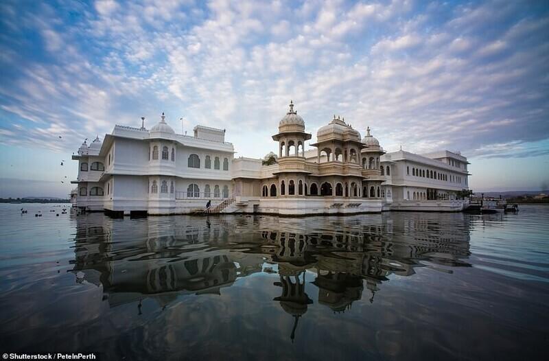 Озёрный дворец, Удайпур, Индия
