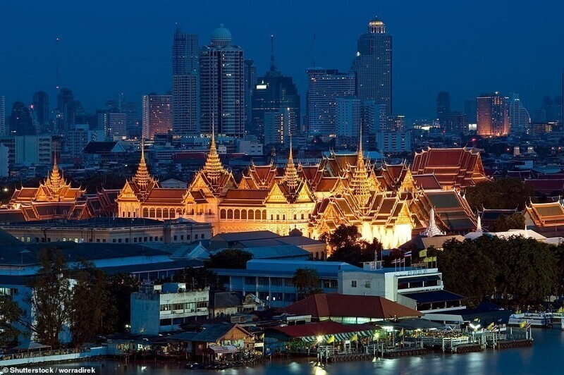 Большой дворец, Бангкок, Таиланд