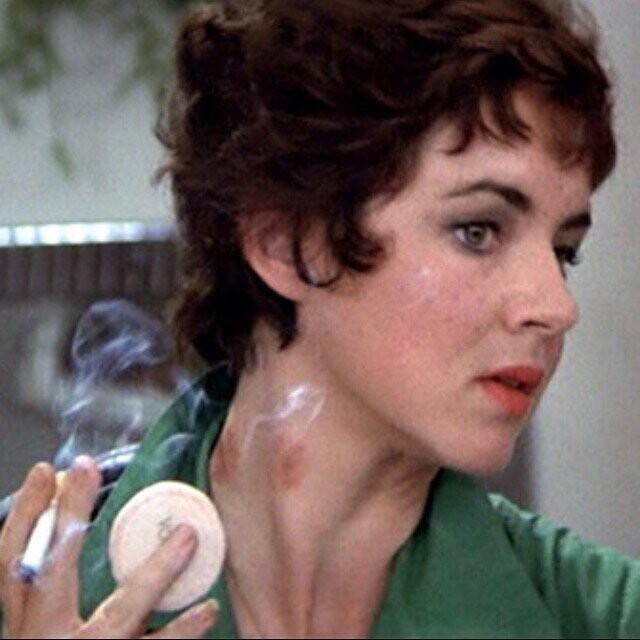 """Засосы у актрисы Стокард Чэннинг из фильма """"Бриолин"""" (1978) были реальными. Их поставил актер Джефф Конауэй"""