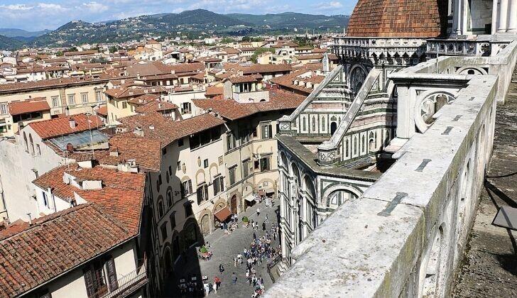 Микеланджело создал оборонительные стены во Флоренции