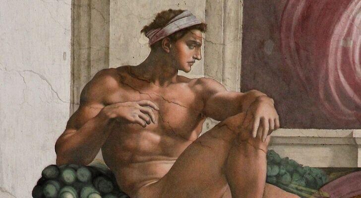 Микеланджело ни разу не был женат