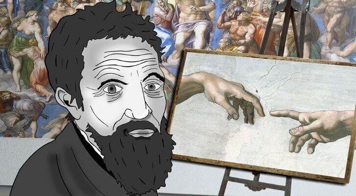 Микеланджело был не только художником, но и поэтом
