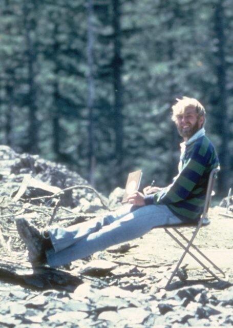 2. Американский вулканолог Дэвид А. Джонстон