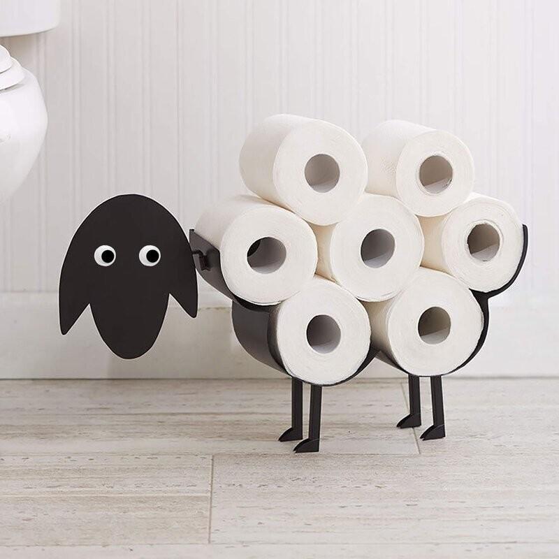Подставка для туалетной бумаги, специально для ленивых