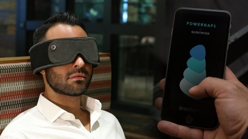 Звуковая маска для сна подавляет шум и позволяет слушать музыку и аудиокниги даже в самых шумных местах