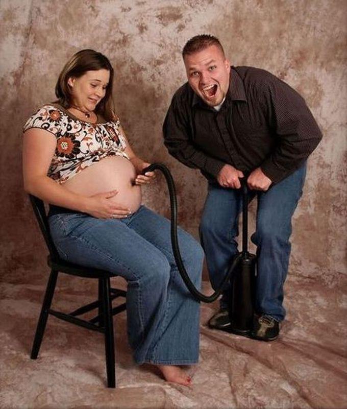 с беременной фото